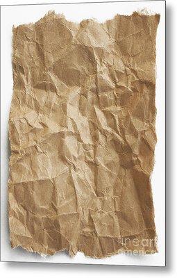 Brown Paper Metal Print by Blink Images
