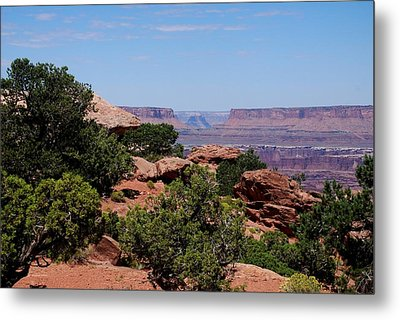By The Canyon Metal Print by Dany Lison