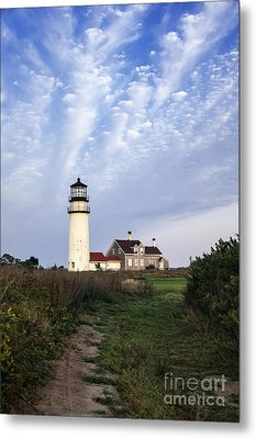 Cape Cod Light Metal Print by John Greim