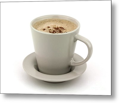 Cappuccino Coffee  Metal Print