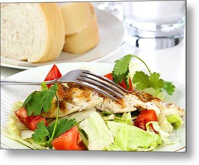 Chicken Salad Metal Print