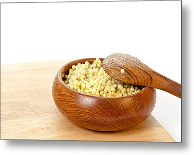 Cous Cous Salad Metal Print by Tom Gowanlock