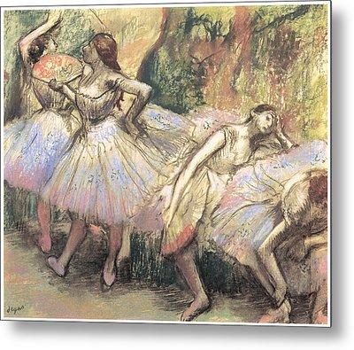 Dancers Metal Print by Edgar Degas