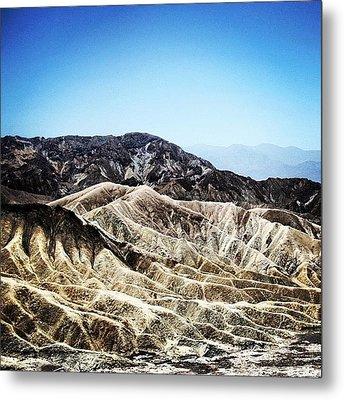 Death Valley Metal Print