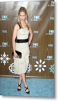 Dianna Agron At Arrivals For Fox Metal Print by Everett