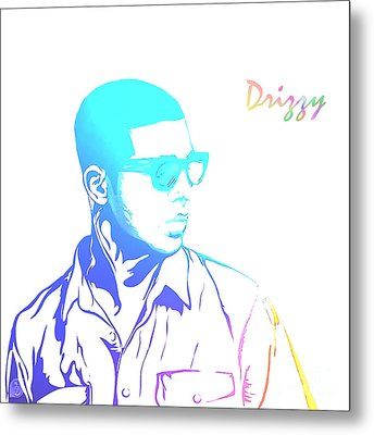 Drizzy  Metal Print by The DigArtisT