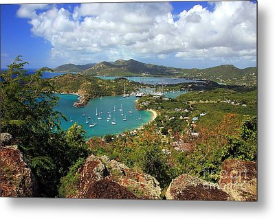 English Harbor Antigua Metal Print by Sophie Vigneault