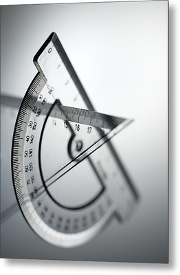 Geometry Set Metal Print by Tek Image