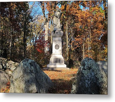 Gettysburg Three Days Battle   Metal Print by Valia Bradshaw