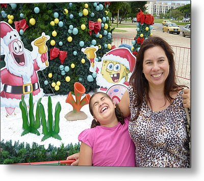 Metal Print featuring the photograph Happy by Beto Machado