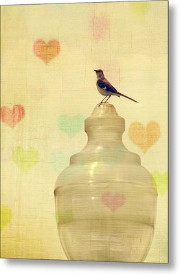 Heartsong Metal Print by Amy Tyler