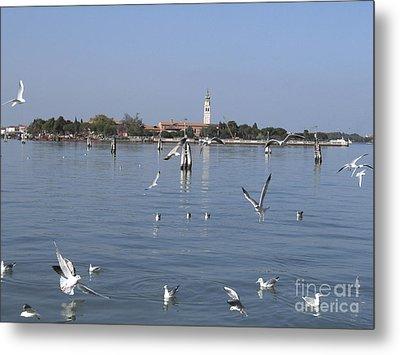 Lagoon. Venice Metal Print by Bernard Jaubert