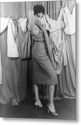 Leontyne Price B. 1927, African Metal Print by Everett