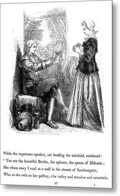Longfellow: Standish, 1859 Metal Print by Granger