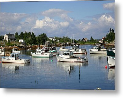 Maine Metal Print by Jeanne Andrews