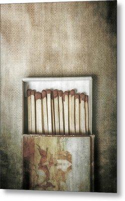 Matches Metal Print by Joana Kruse