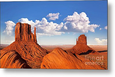Monument Valley Metal Print by Jane Rix
