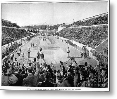 Olympic Games, 1896 Metal Print by Granger
