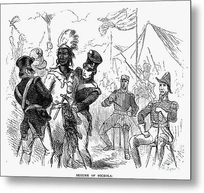 Osceola (1800?-1838) Metal Print by Granger