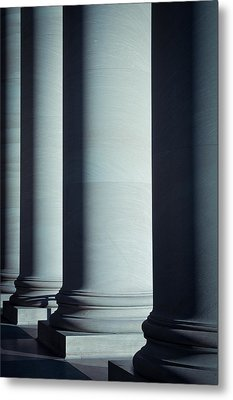 Pillars Of Law And Education Metal Print