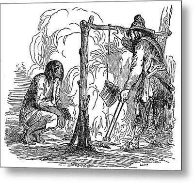 Robinson Crusoe Metal Print by Granger