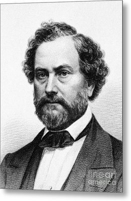 Samuel Colt (1814-1862) Metal Print by Granger