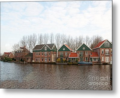 Metal Print featuring the digital art Scenes From Amsterdam by Carol Ailles