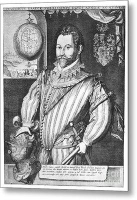 Sir Francis Drake (1540-1596) Metal Print by Granger