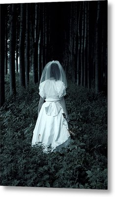 The Bride Metal Print by Joana Kruse