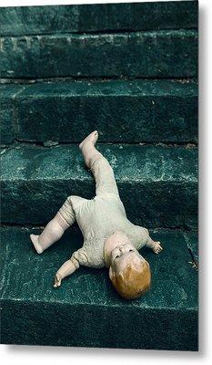 The Doll Metal Print by Joana Kruse