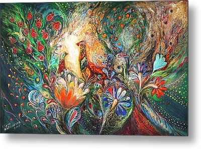 The Flowers And Fruits Metal Print by Elena Kotliarker