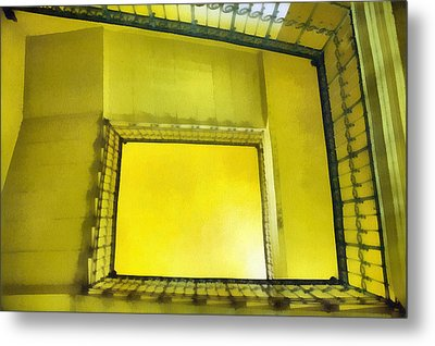 The Staircase Metal Print by Odon Czintos