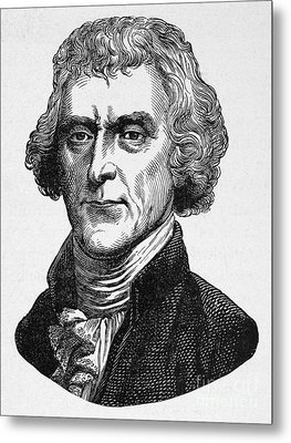 Thomas Jefferson Metal Print by Granger
