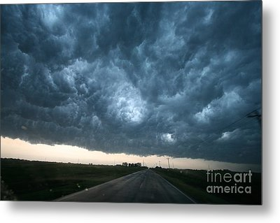 Thunderstorm And Supercell Metal Print