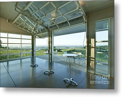 Winderlea Wine Tasting Room Metal Print by Rob Tilley
