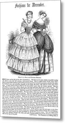 Womens Fashion, 1851 Metal Print by Granger