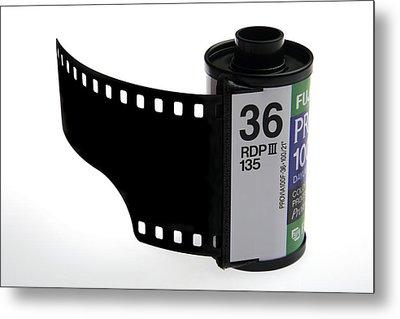 35mm Photographic Colour Slide Film Metal Print