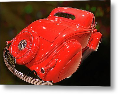 Metal Print featuring the photograph 36 Custom Coupe by Bill Dutting