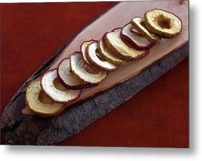 Apple Chips Metal Print by Joana Kruse
