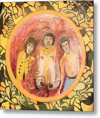 Are You Experienced. Metal Print by Ken Zabel