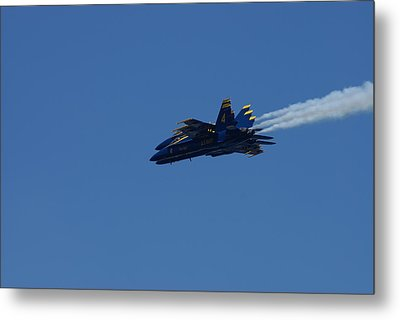 4 Blue Angels Metal Print by Jerry Cahill