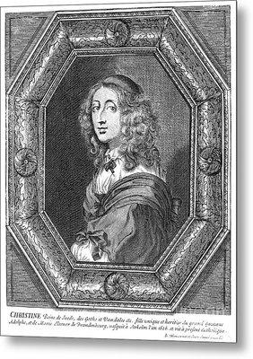 Christina (1626-1689) Metal Print by Granger