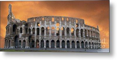 Colosseum. Rome Metal Print by Bernard Jaubert