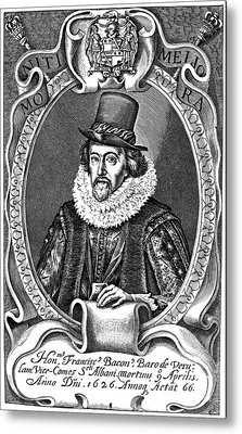Francis Bacon (1561-1626) Metal Print by Granger