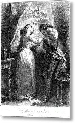 Goethe: Werther Metal Print by Granger