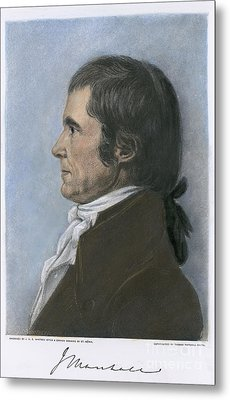 John Marshall (1755-1835) Metal Print by Granger