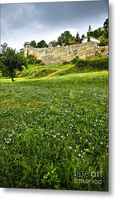 Kalemegdan Fortress In Belgrade Metal Print