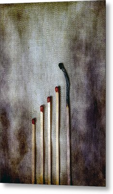 Matches Metal Print by Joana Kruse