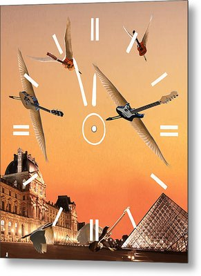 4 Minutes To Rock Metal Print by Eric Kempson