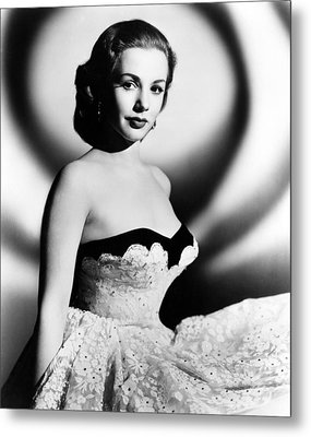 Piper Laurie, 1952 Metal Print